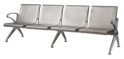 Airport Bench Die Cast Aluminium
