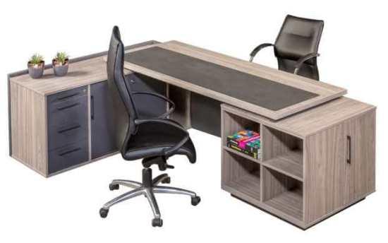 Nova Executive Desk – Melamine Office Desk
