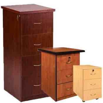 3 Drawer Pedestals