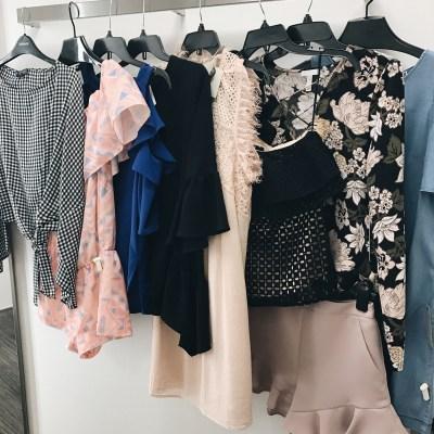 Dressing Room Diaries + Weekend Recap