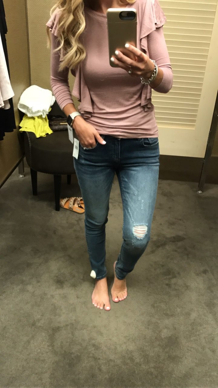 Nordstrom Anniversary Sale // Dressing Room Fitting Room Session with links and fit information