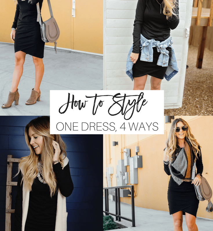 The Most Flattering Dress Styled 4 Ways