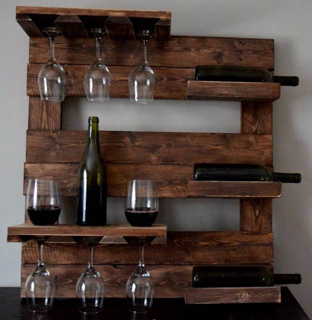 25 diy wine glass rack how to make a