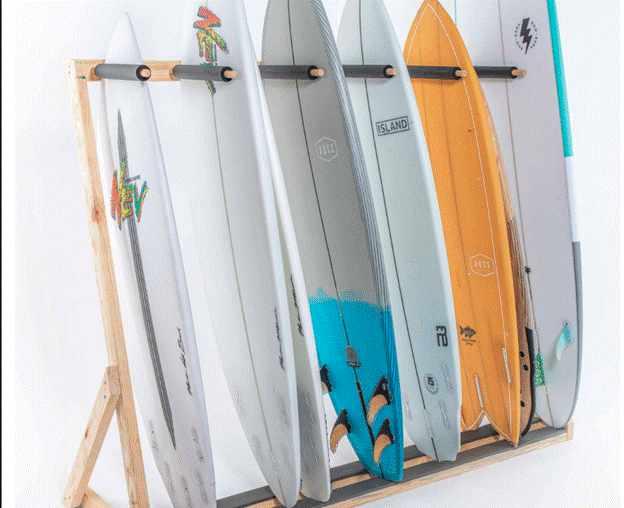 22 diy surfboard racks how to make a