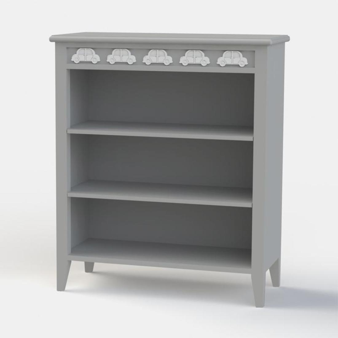 Bertie Beetle Low Bookcase