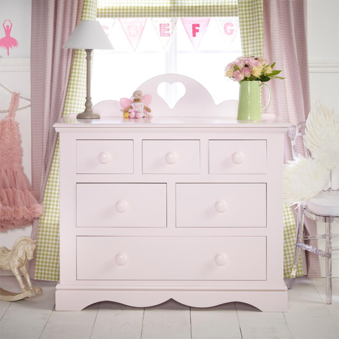 Looby Lou Combination Chest Girls Chest Girls Bedroom Furniture