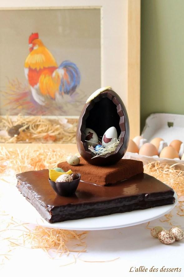 Gâteau au chocolat de Pâques (3)