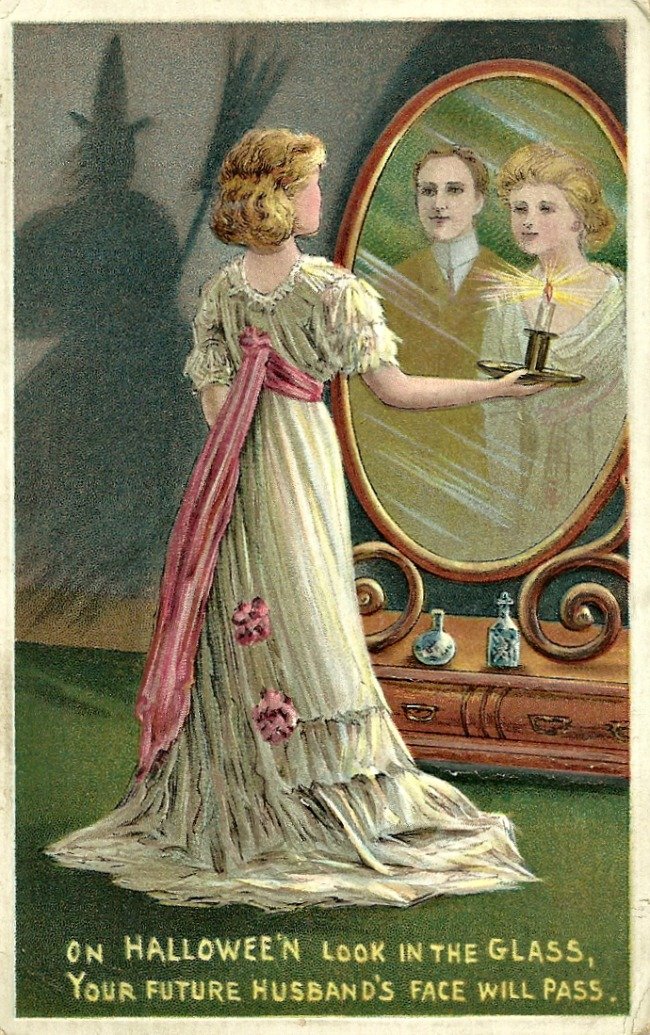 Image result for victorian halloween postcards