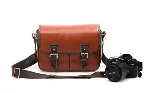 Product Review: Large Waterproof Leather DSLR Camera Bag