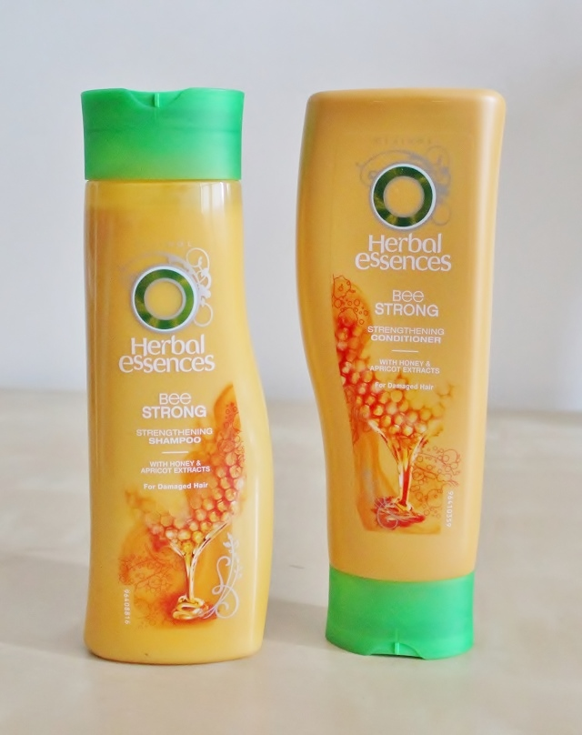 Herbal Essences Bee Strong Shampoo and Conditioner