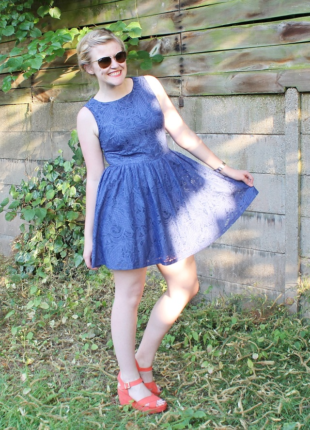 OUTFIT: The Little Blue Dress