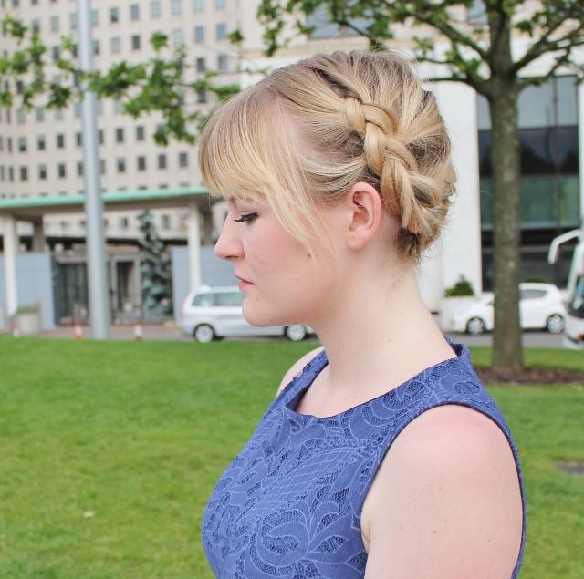 Little Miss Katy milkmaid braids