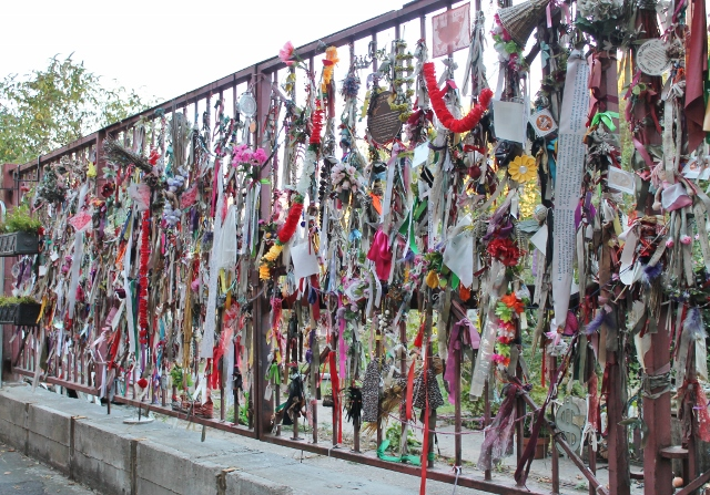 Cross Bones graveyard railings