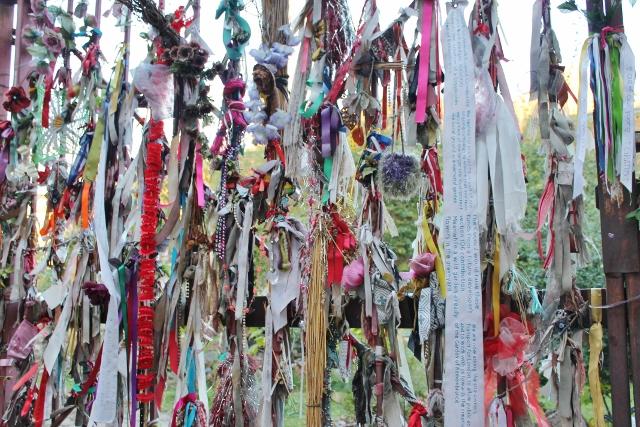 Cross Bones graveyard ribbons