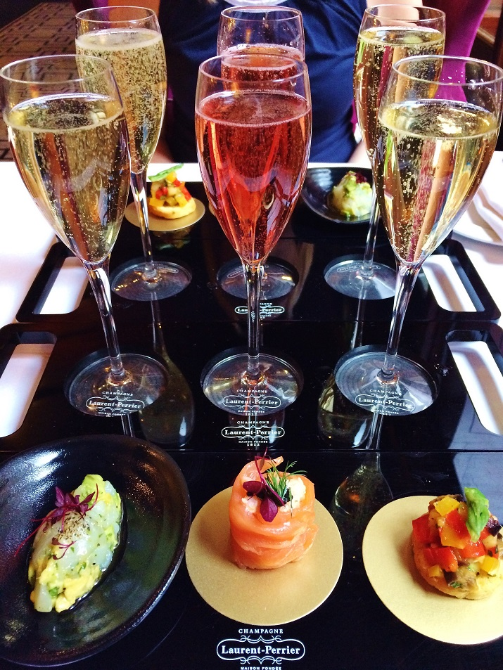 Champagne and Canapes at St James' Court