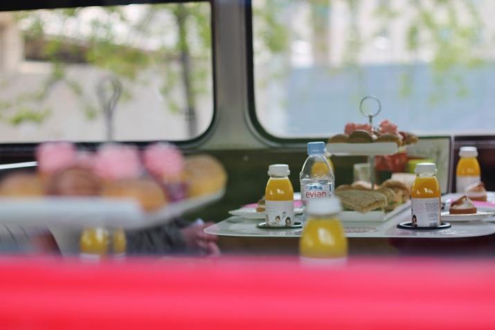 London Afternoon Tea Bus