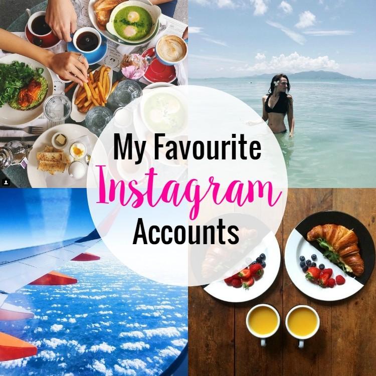 favourite instagram accounts