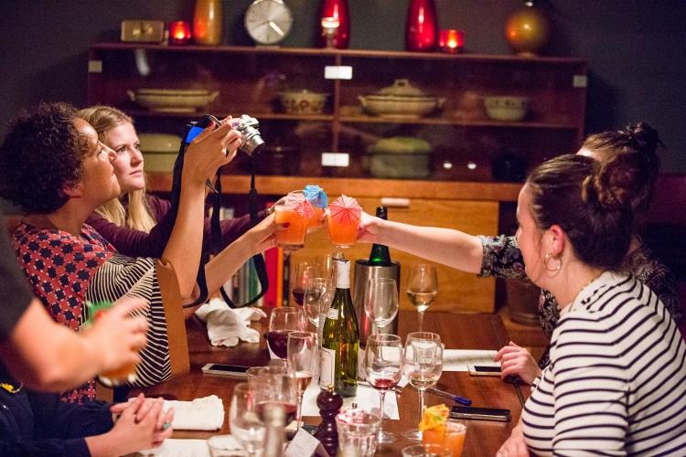 Marie Curie Dinner Down Memory Lane