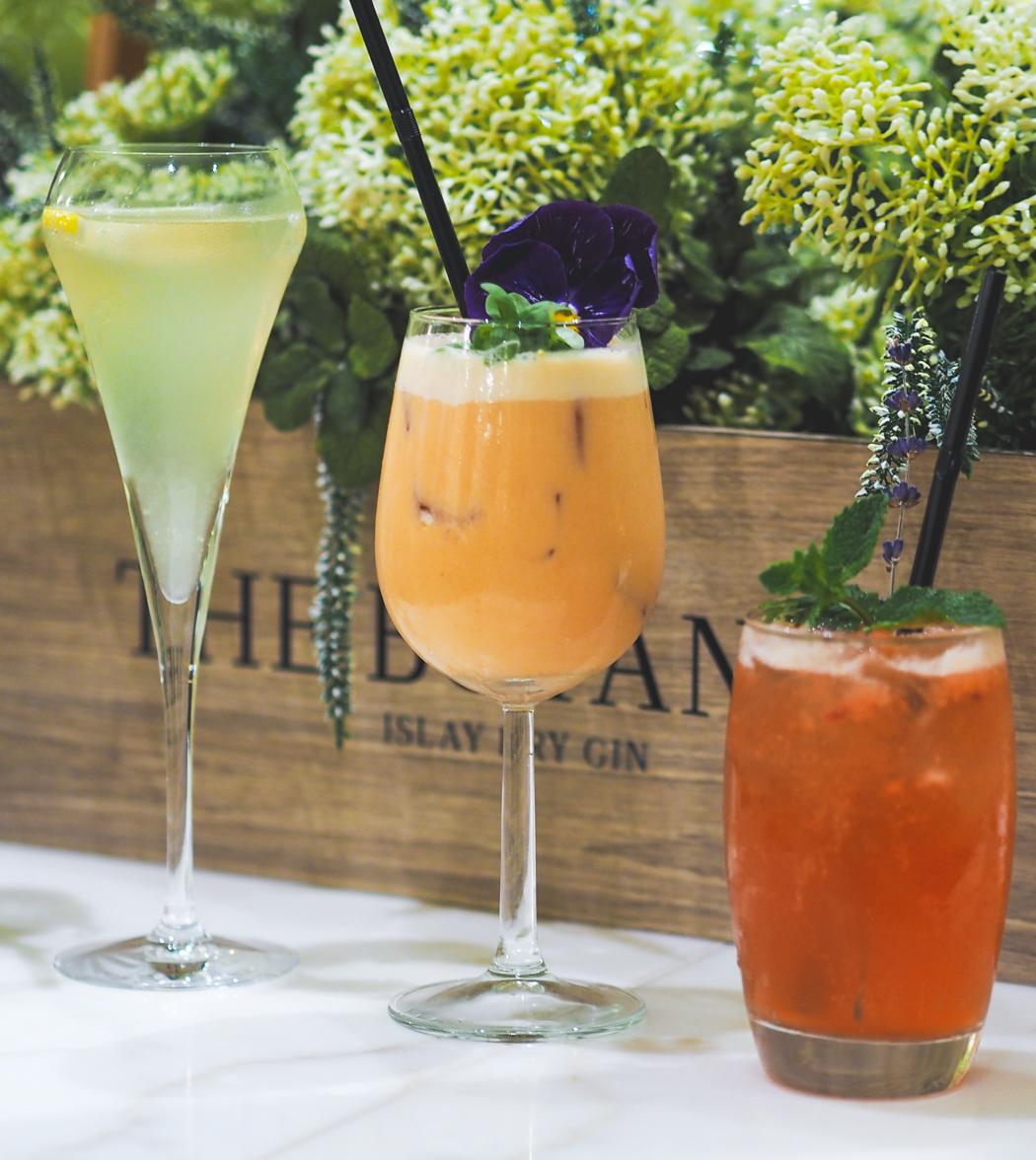 Botanist Gin cocktails