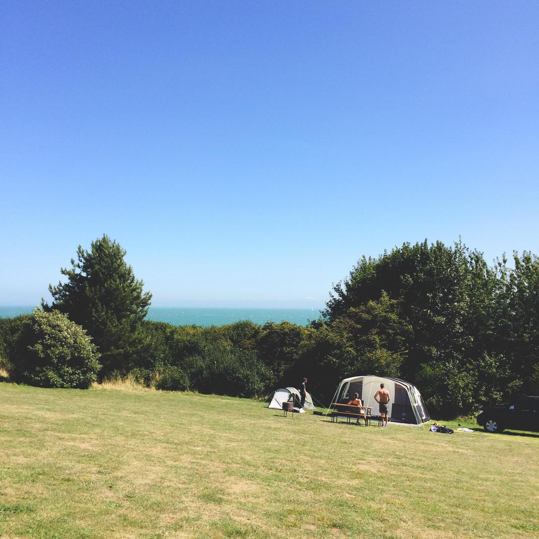 Kingsdown Camping in Kent