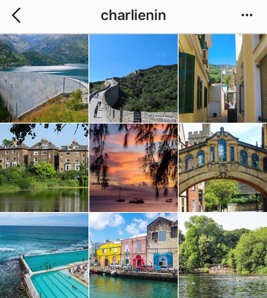 charlie distracted instagram