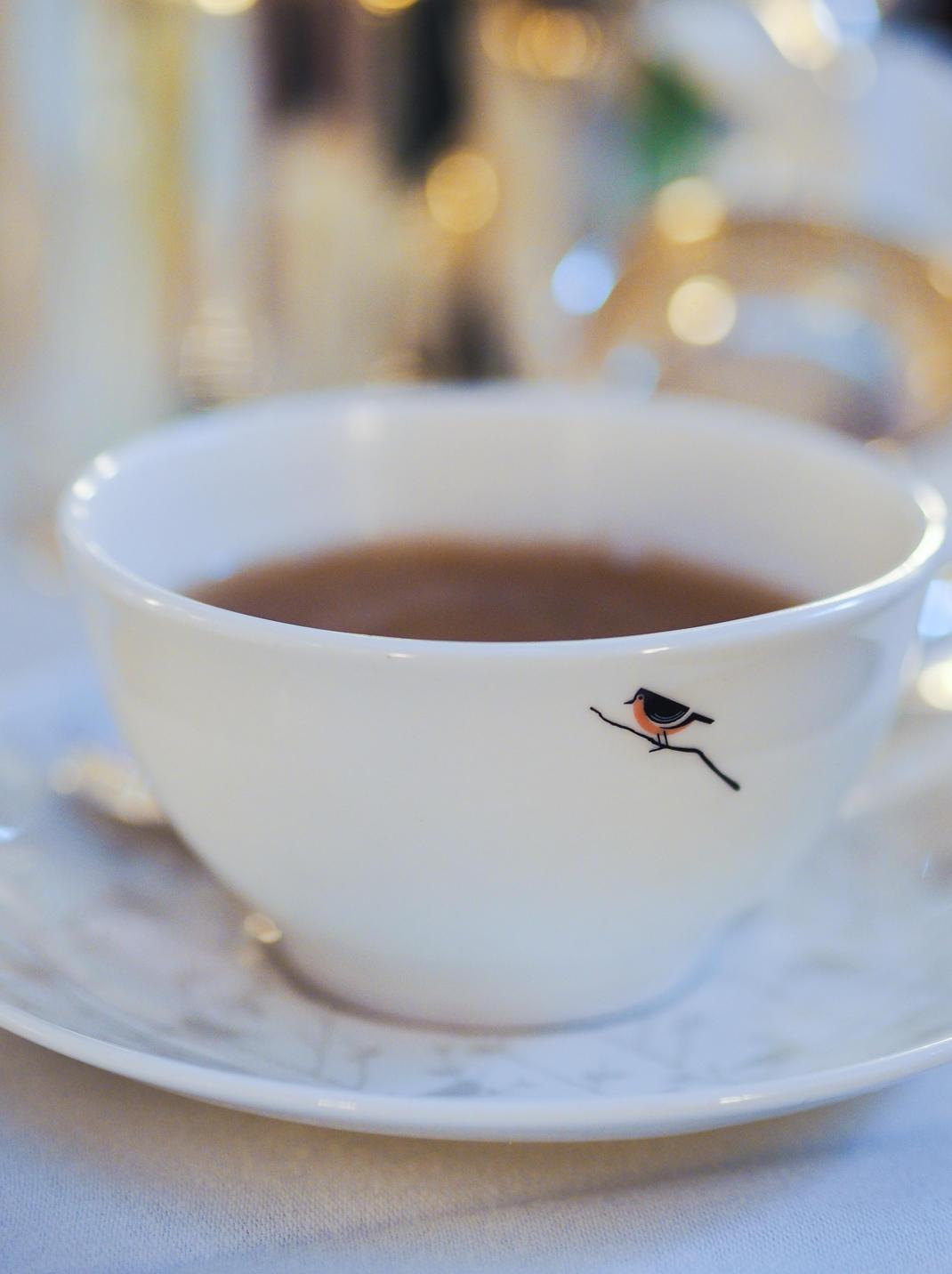 Sheraton Grand dalmation afternoon tea in London