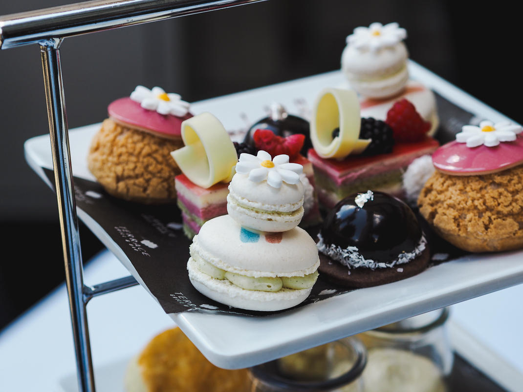 Le Meridien Piccadilly afternoon tea in London