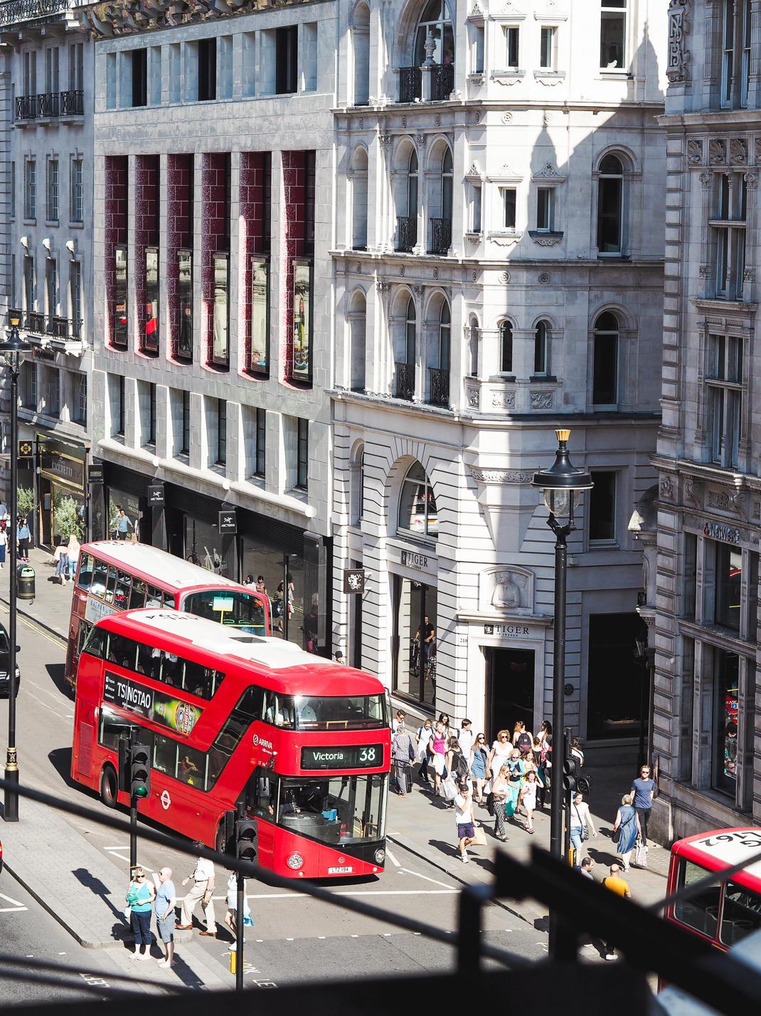Le Meridien Piccadilly afternoon tea in London