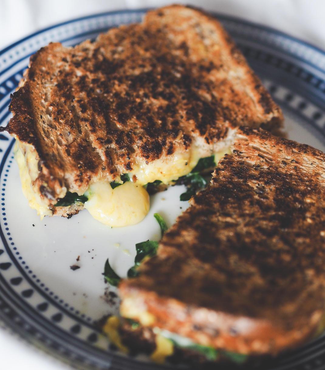 cheese mustard toastie