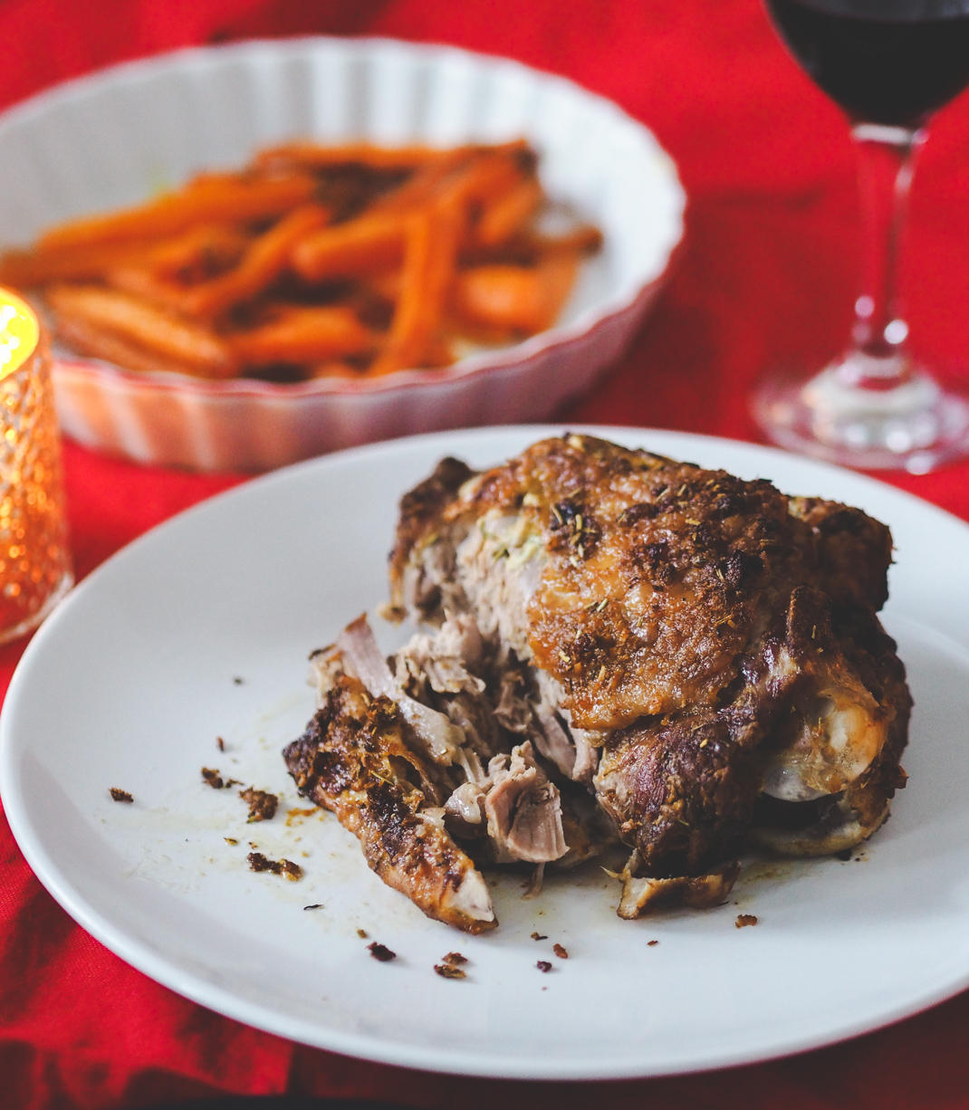 thanksgiving dinner menu for two people