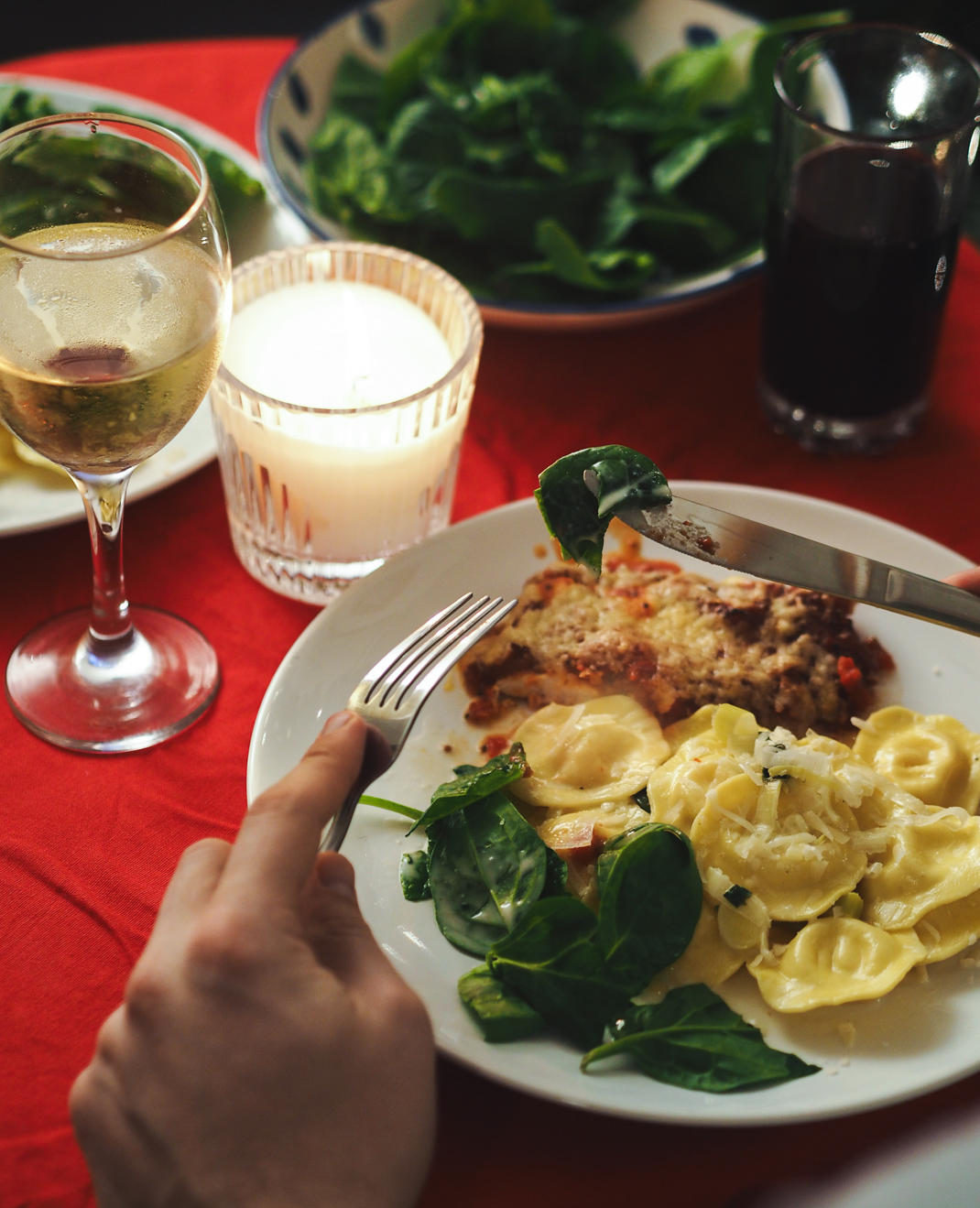 eating like an italian