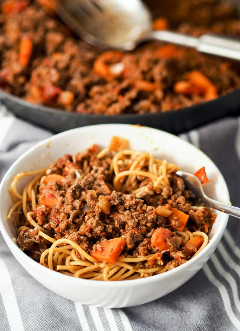 Rich and Herby Bolognese Sauce