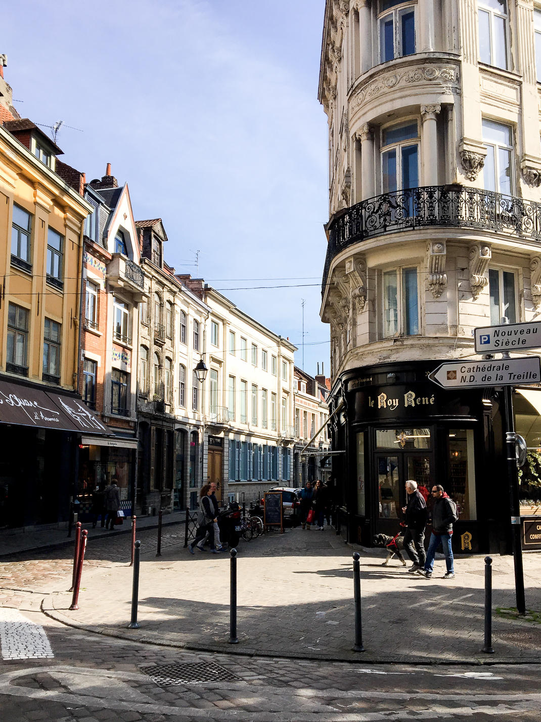 pretty french streets