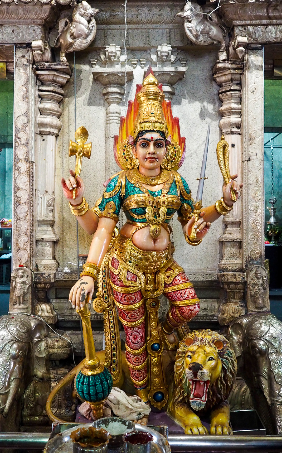 Sri Veeramakaliamman temple singapore