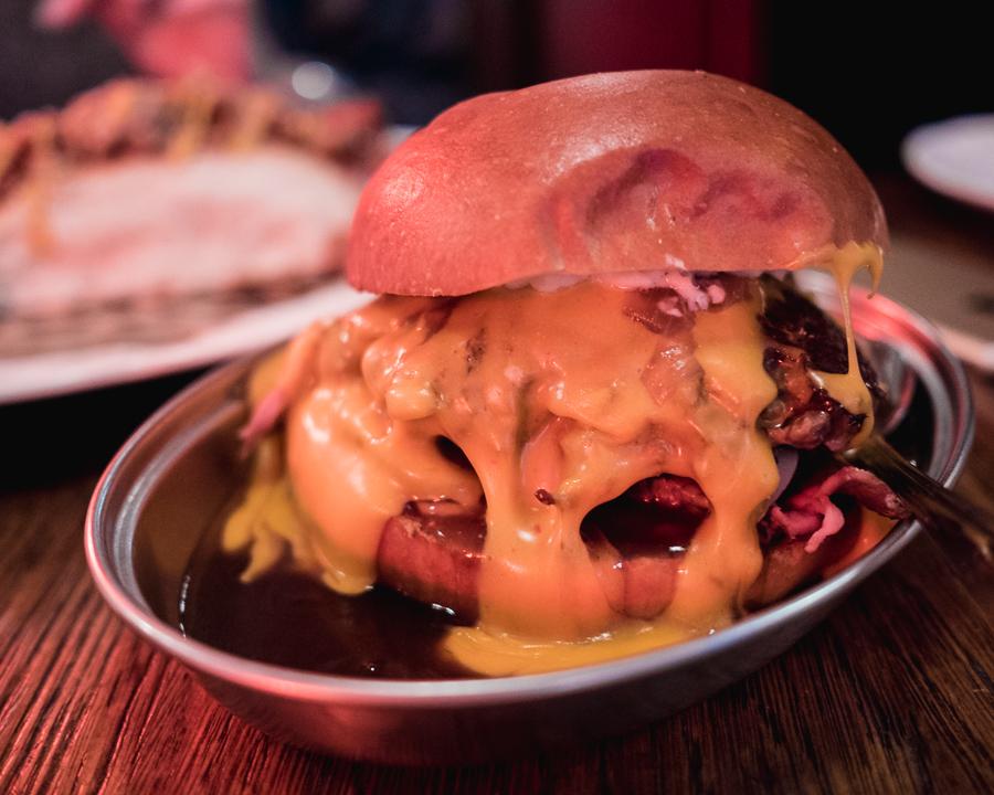 cheese burger bad egg