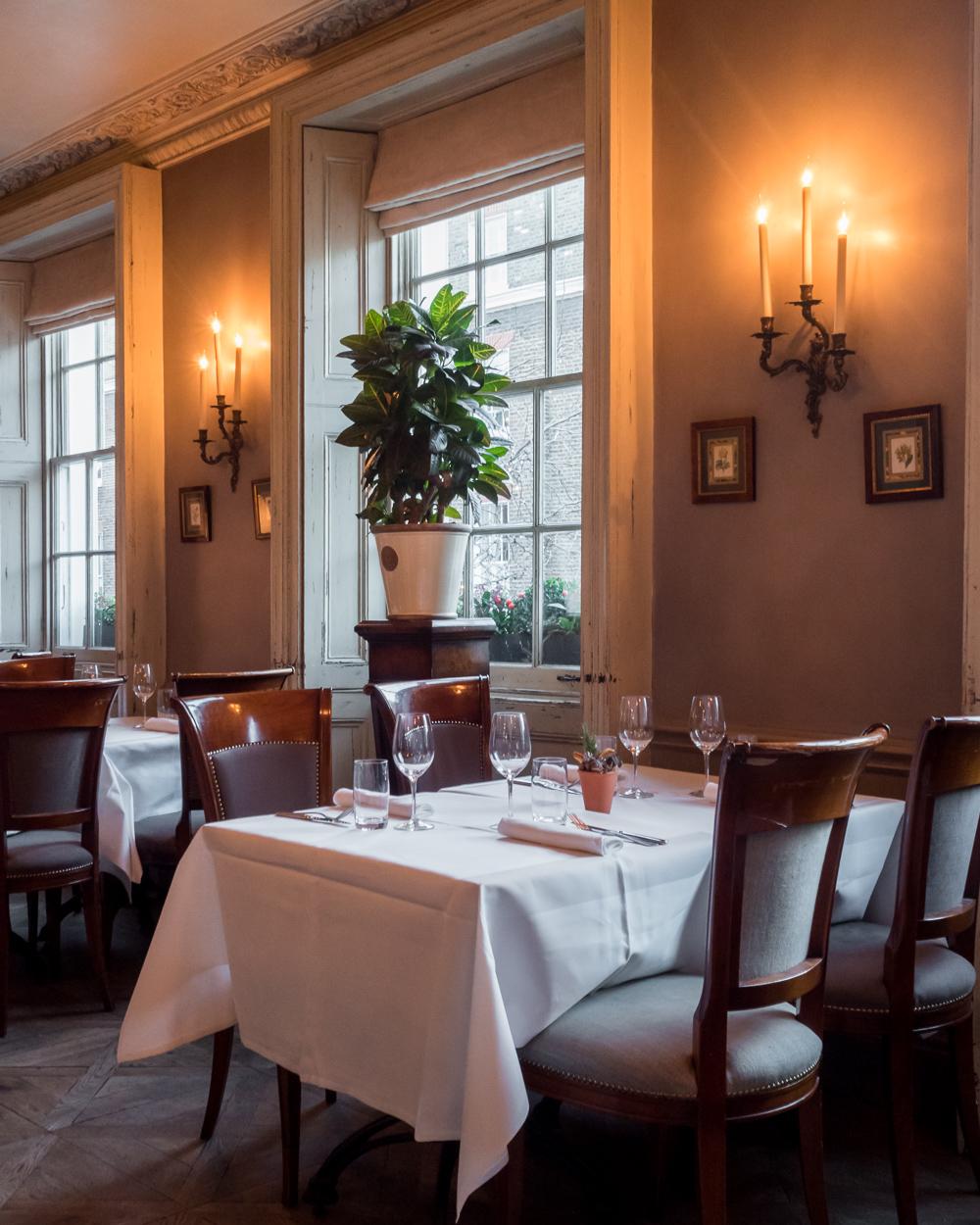 thomas cubitt restaurant interiors