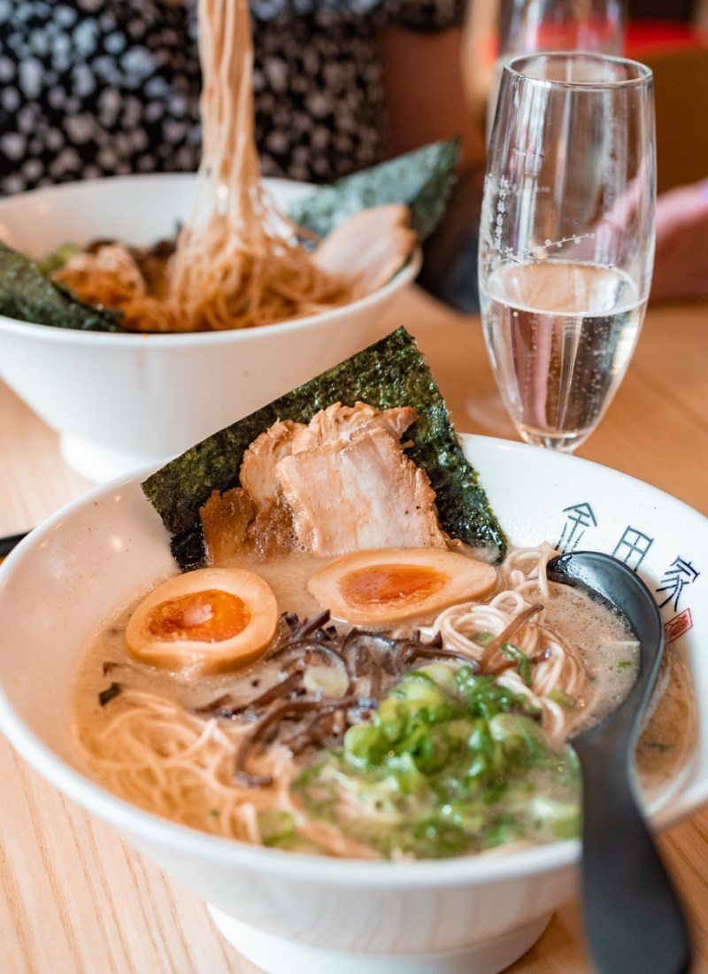 Tonkotsu ramen at Kanada-ya in London
