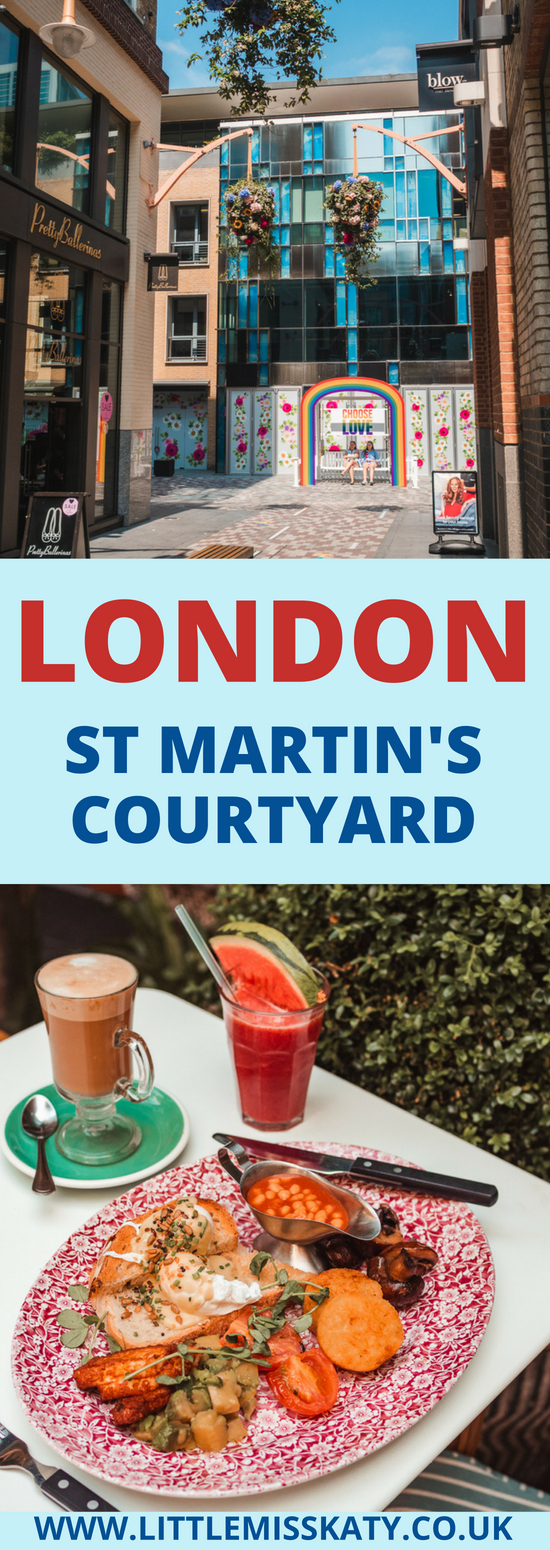 LONDON | St Martin's Courtyard and Mercer Walk. A peaceful pocket of London filled with fabulous shops and delicious restaurants!