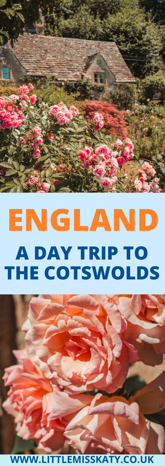 ENGLAND - How to take a day trip from London to the Cotswolds without a car!