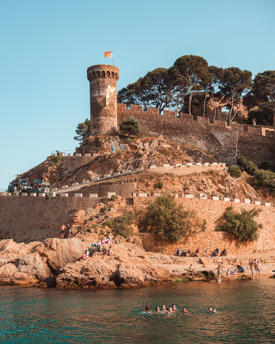 Tossa de Mar castle