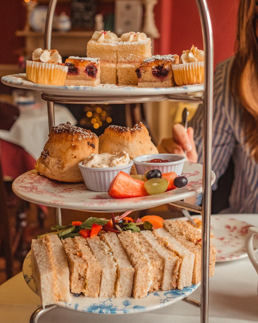 Afternoon tea at the Jane Austen Centre in Bath