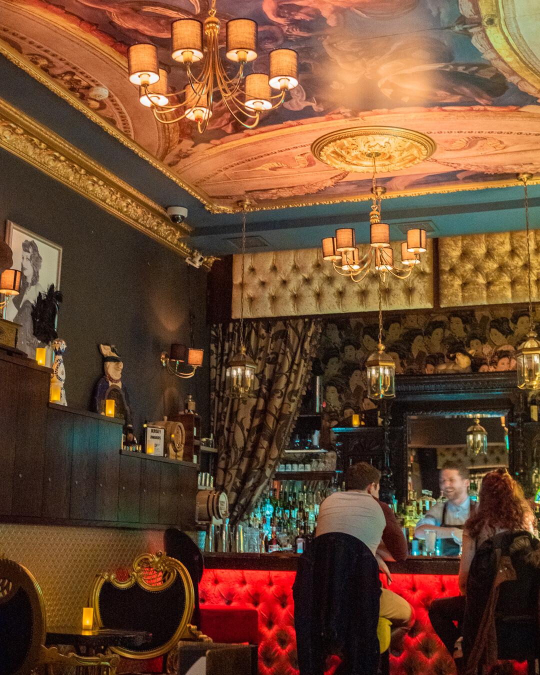 The Blind Pig speakeasy bar, Jersey