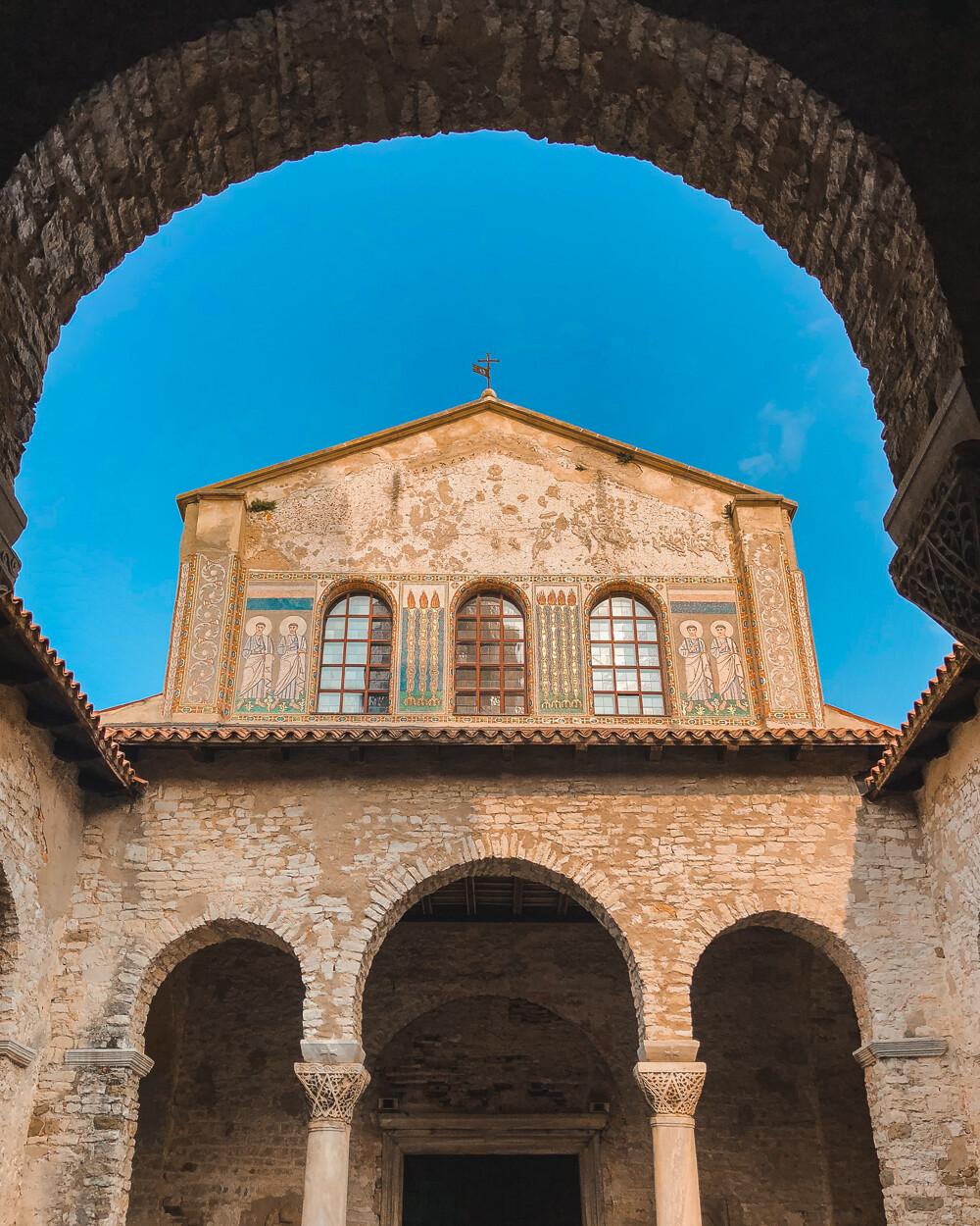 Basilica Eufrasiana in Porec, Istria, Croatia