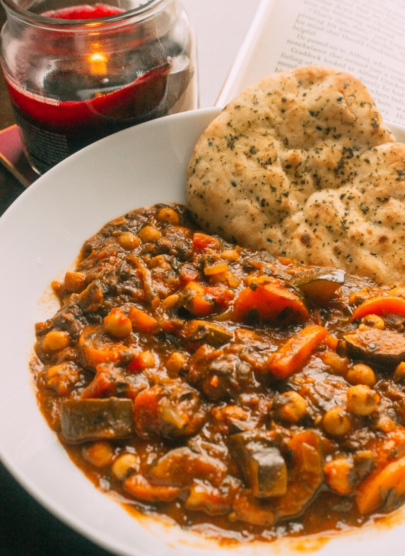 vegan chickpea curry