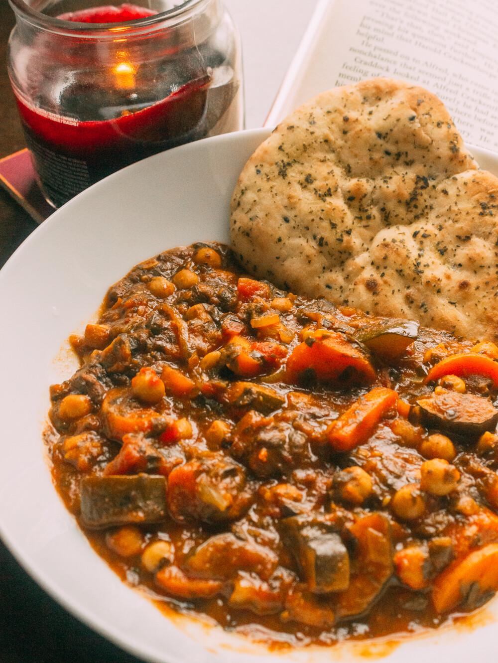 vegan chickpea curry