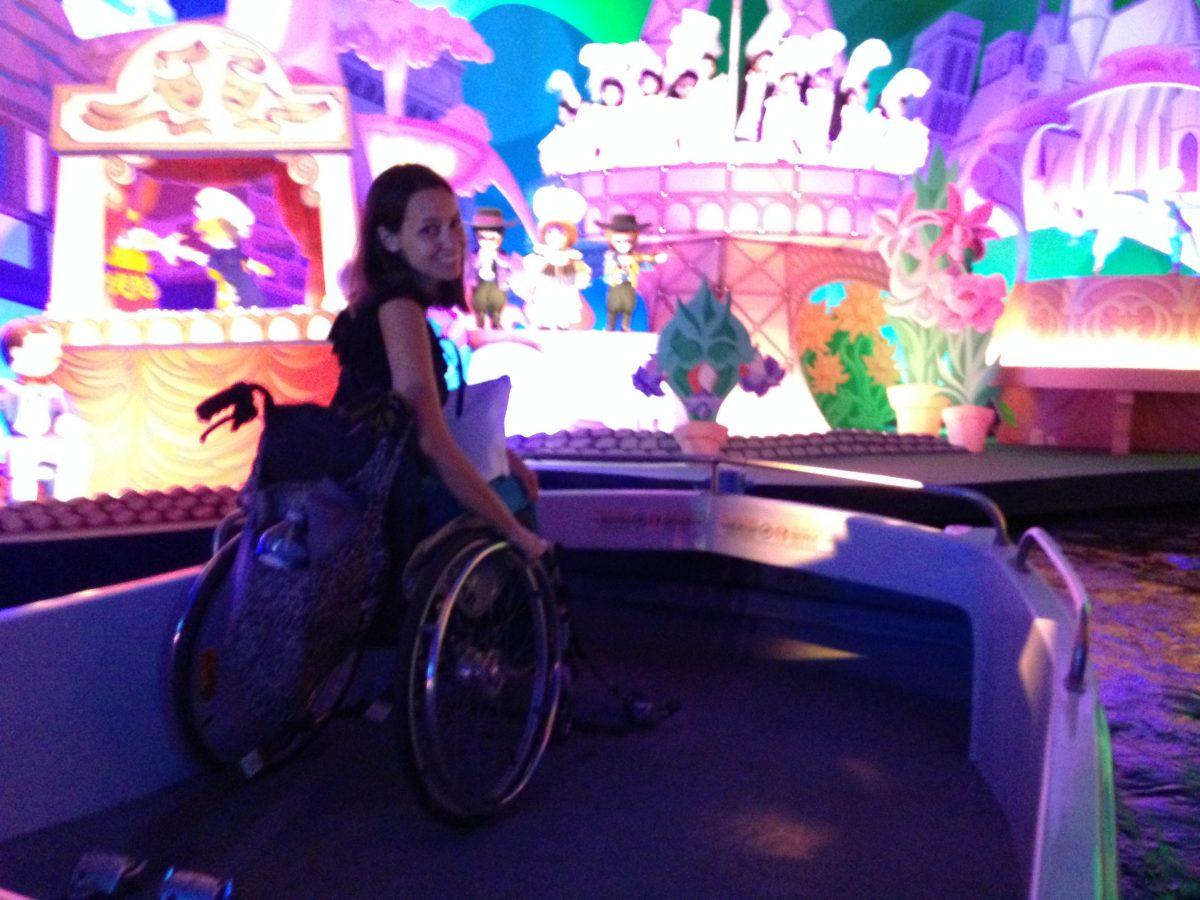 It's a small world at Disneyland Paris