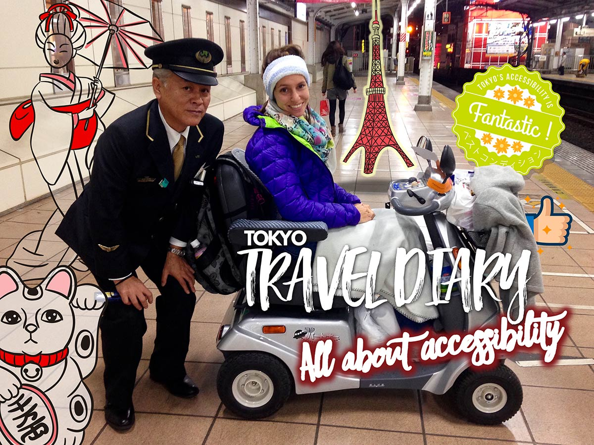 Tokyo Travel Diary | All about Accessibility