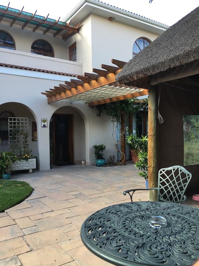Entrance - A Tuscan Villa
