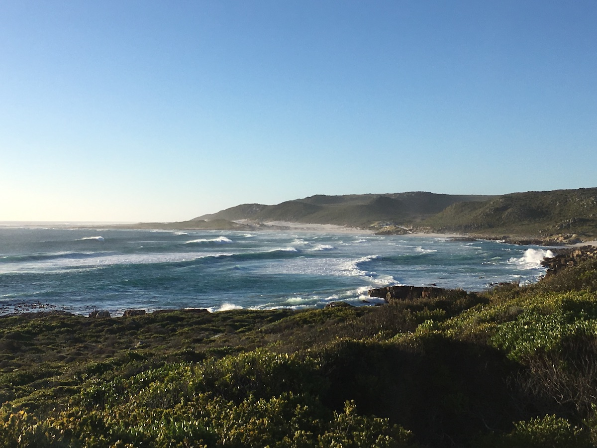 Beautiful coastline in wheelchair-friendly Cape Point Nature Reserve