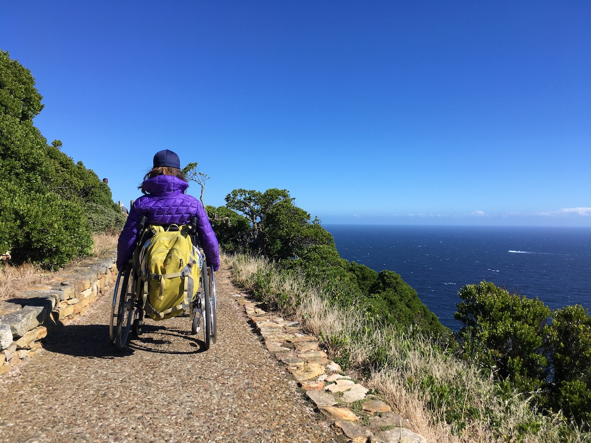 Wheelchair-accessible path